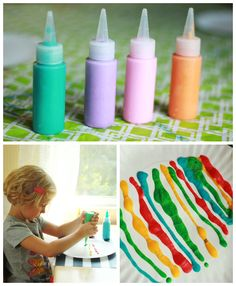 Microwave Puffy Paint (and 3 other fun things to do with a microwave)