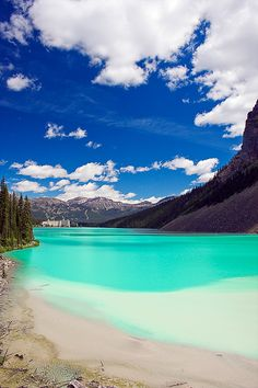 Lake Louise, Alberta. lake louise, alberta, canada, beauti place, lakes, national parks, beach, travel, places