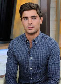 Zac Efron on Good Morning America (2013). Good lawd have mercy.