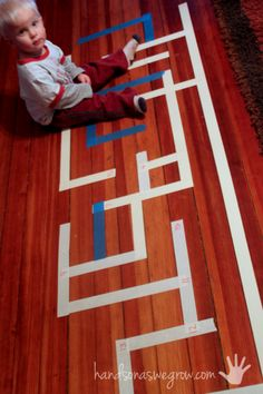 Number Maze for Kids Learning to Count - pinned by @PediaStaff – Please Visit  ht.ly/63sNt for all our pediatric therapy pins