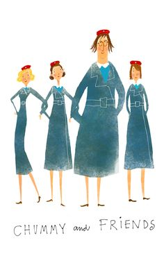 Chummy and Friends | Miranda Hart #callthemidwife you know you're a nursing geek when your favorite shows are about nurses and hospitals.