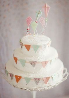 Kites, buntings and cake