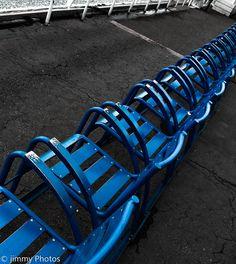 Un monde en #couleurs : #Bleu, comme les chaises - #Nice