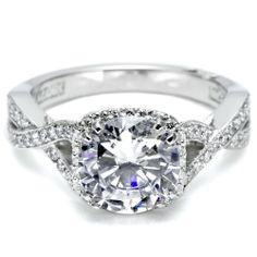 Gorgeous Tacori engagement ring