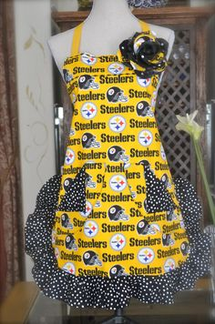 Pittsburgh Steelers apron