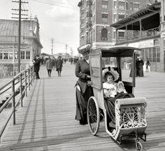 Altantic City Boardwalk Strollers (1906)
