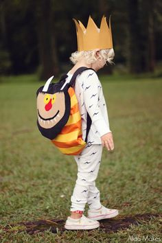 #sewmuchlove for this backpack from @Alida Young Lee Love the Where the Wild Things Are fabric on the inside!