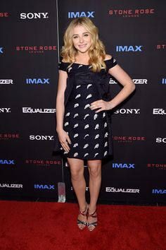 Chloe Grace Moretz attends the 'The Equalizer' New York premiere at AMC Lincoln Square Theater on September 22, 2014 in New York City