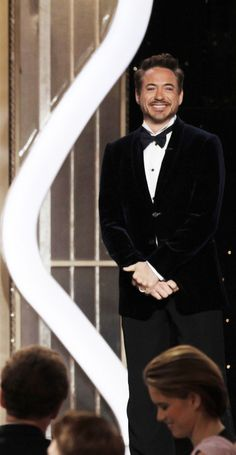 Robert Downey Jr. at the 70th Annual Golden Globes, January 13, 2013.