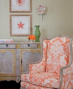TG interiors: Tangerine interiors..a Beautiful color Palette...