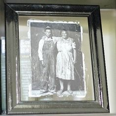 Photo Transfer onto Glass -- Transfer vintage photos onto glass with this technique | Looksi Square