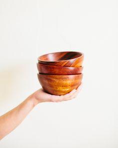 Fecht Design x Pennyweight Limited Edition Wood Bowl