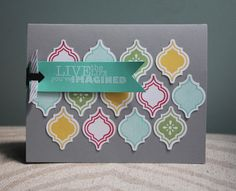 Mosaic Madness and Really Good Greetings set.  Amy Bollman: Artisan Design Team