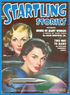 Startling Stories, Sept. 1951, cover by Earle K. Bergey