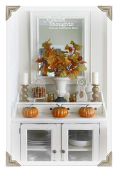 Gorgeous Fall home decor styling from @Gina Gab Solórzano