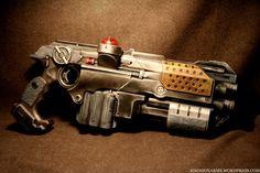 Gears of War 3 style Lasertag LTX by Johnson Arms -- http://johnsonarms.wordpress.com/