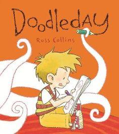books, ross collin, nerd crafts, doodleday, art lesson, doodles, pictur book, art book, children book