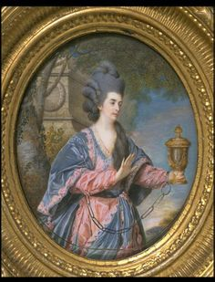 Mary Ann Yates as Electra in Voltaire's Orestes, Cotes, Samuel, 1769, Watercolour on ivory. Purchased with funds from the Graham Robertson Gift and the R. H. Stephenson Bequest