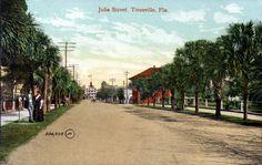 Florida Memory - Julia Street - Titusville, Florida