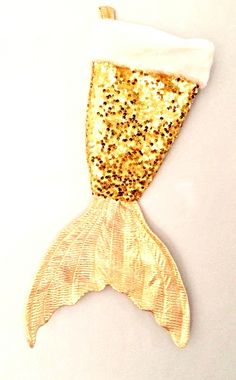 sequin mermaid, christmas decorations, christmas stockings, gold sequin