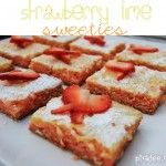 Strawberry Lime Sweeties {recipe} | Picklee