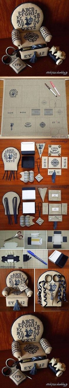 DIY Mini Organizer D