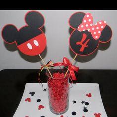 Mickey centerpiece