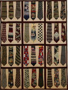 TIE: Necktie quilt