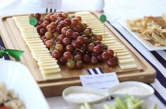 Cheese & Grapes Party Food
