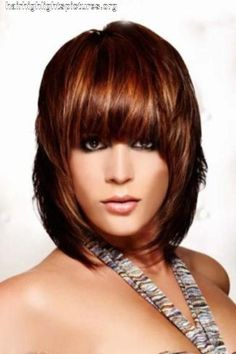 Brown Hair With Red Highlights - kootation.com by Nessa