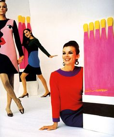 :: Tribute to Tom Wesselmann. Yves Saint Laurent, 1966