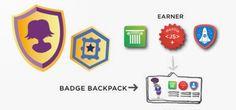 Digital badges denote education and skills gained badg