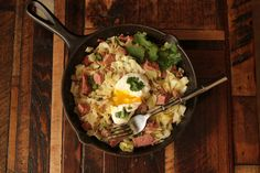Low Carb Corned Beef and Hash