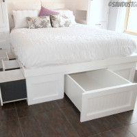 storag bed, extra storage, under bed storage, platform beds, platform storag, storage beds, guest rooms, storage ideas, bedroom