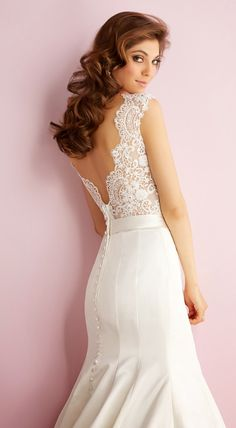 Lovely lace ~ Allure Romance Spring 2014 Bridal Collection | bellethemagazine.com