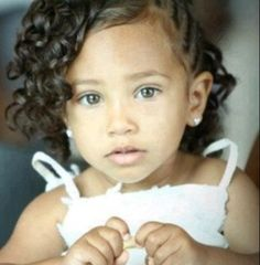 Beautiful child with curls