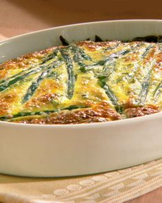 Frittata with Asparagus, Goat Cheese, and Spring Herbs