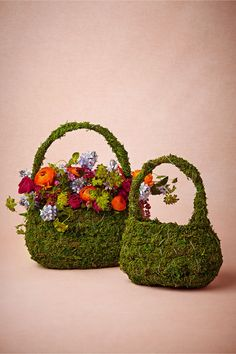 Fernmoss Basket in Décor View All Décor at BHLDN