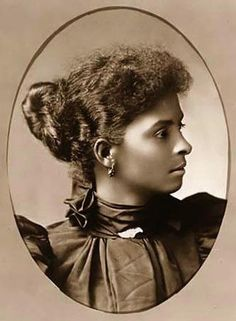 African American Woman Portrait by Black History Album