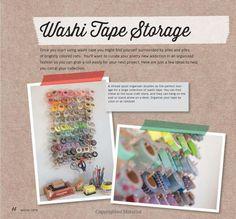 Washi Tape Organizat