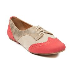 Shop for Womens Not Rated Party Pops Flats in Coral at Journeys Shoes. Shop today for the hottest brands in mens shoes and womens shoes at Journeys.com.Cute and fun wingtip flat, the Not Rated Party Pop rocks a synthetic upper with serrated edge detailing and vamp perforations. Includes weathered vintage-style overlay, classic lace closure, and textured rubber outsole.