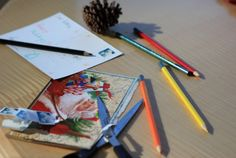 DIY: New Uses for Old Holiday Cards. Reuse holiday cards as postcards or as gift tags.  Postcard: cut off the front and put on a stamp on the other side. Gift tag: cut cards into smaller pieces and attach with tape or ribbon. http://www.epa.gov/waste/wycd/winter.htm