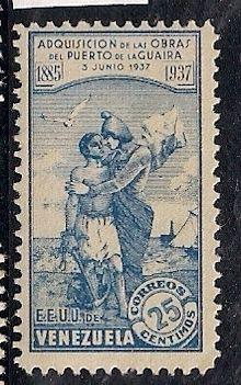 Estados Unidos de Venezuela 1937.