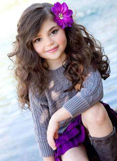 cute kid primary school, little girls, kid hairstyles, fashion ideas, kids fashion, school hair, kid photos, baby girls, wavy hairstyles