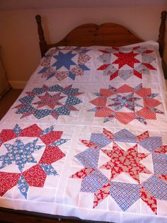 Swoon quilt top by quiltification, via Flickr