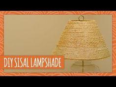 DIY Sisal Lampshade - HGTV Handmade