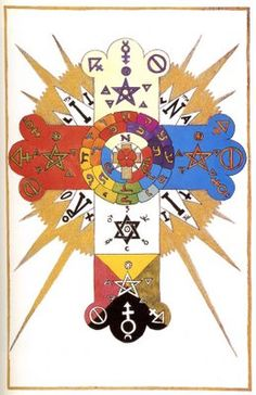 rosy Cross   Jesse Bransford's Image Archive: The Rose Cross of the Golden Dawn