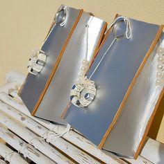 ORK'IDEA ATELIER:  natale : PACCHETTI REGALO RICICLANDO IL TETRAPAK / Packaging with Tetra Pak