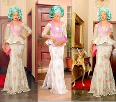 Colorful, Trendy, Stylish & Ultra-Lovely Aso-Ebi Styles | Nigerian Wedding Fashion