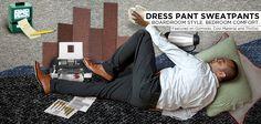 sweat pant, product inspir, dresses, sweat dress, dress pants, pant sweatpant